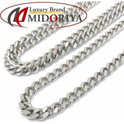 50.3 grams of Kihei necklace Pt850 two single 60cm platinum Kihei chain necklace men /72164