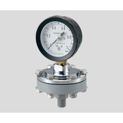 Pressure gauge MZS-1A 75*1.0 fluorine