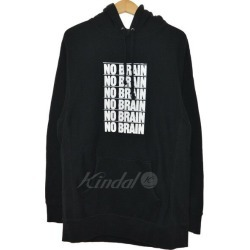 """Fucking Awesome 18AW """"NO BRAIN"""" pullover parka black size: L (ファッキングオーサム)"""