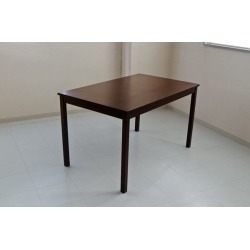 """It includes the dining table / work desk dark brown wooden woodgraining """"MIRA"""" postage!"""