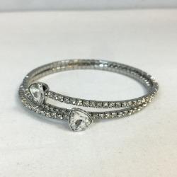 SWAROVSKI Swarovski Twisty Triangle 5086031 bangle accessories jewelry jewel accessory silver SILVER Lady's shell mound store 731408 RK723J
