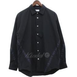 EN ROUTE 2019SS ester taffeta tape big shirt shirt black size: 1 (Ann route)