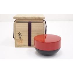 Sect Shunzo lacquering former red jujube [tea ceremony / tea set / tea service set / curio / tea / jujube]