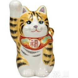 It is Kutani chinaware 4 invitation 猫金釉彩 [in all articles point 10 times]
