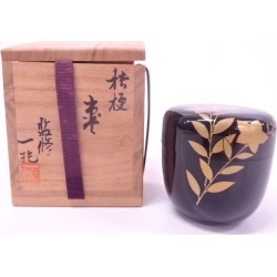 One Empress 1 trillion supervision lacquering lacquer work bellflower jujube [tea ceremony / tea set / tea service set / curio / tea / jujube]