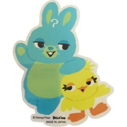 To seal die cut sticker Toy Story 4 ducky & バニーディズニーデルフィーノコレクション miscellaneous goods petit gift mail order 10/11