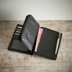 The passport case and wallet