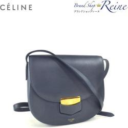 Take Celine (CELINE) Small trotteur shoulder slant; a bag 17902 old logo