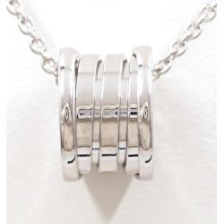 Bulgari B zero one K18WG necklace metal box used jewelry ★★ giftwrapping for free