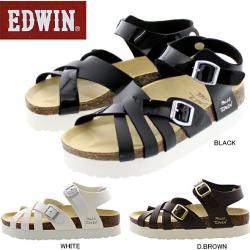 Edwin Sandals Women's Edwin Ew9459 Casual Sandals Comfort Sandals Thick