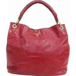 PRADA (Prada) semi-shoulder bag red red leather netshop