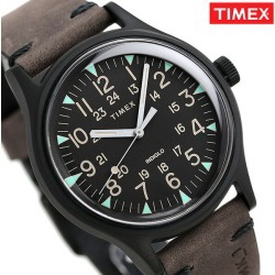 Timex MK1 steel men watch TW2R96900 TIMEX clock black X dark brown