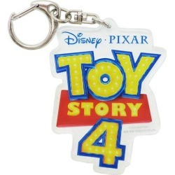 To logo Toy Story 4 key ring die cut acrylic Disney Sun-Star Stationary collection miscellaneous goods petit gift teens miscellaneous goods mail order marshmallow pop 10/11
