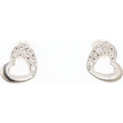 K9WG pierced earrings diamond 0.02*2 used jewelry ★★ giftwrapping for free