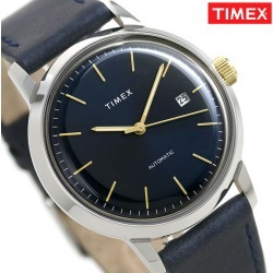 Timex self-winding watch men watch TW2T23100 TIMEX clock navy