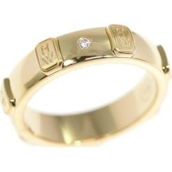 Harry Winston HW logo band 1P, diamond (engage marriage), diamond ring, ring /K18YG/750-6.3g/9 /#49/ yellow gold /HARRY WINSTON ■ 301459
