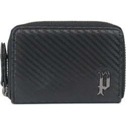 POLICE LUCENTE COIN CASE police wallet coin purse coin case men round fastener leather black black PA-70204 [7/26 Shinnyu load] [197]