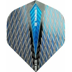 TARGET (target) VISION ULTRA QUARTZ flight (vision ultra quartz flight) standard blue (dart flight dart feather)