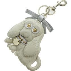 Gucci Gucci sima グッチョリビーグルサム key ring key ring key case /206078/ ivory /GUCCI ■ 283975