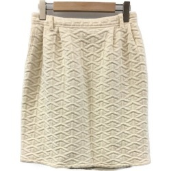 It is ビュルデサボン SIZE F (M) quilting skirt bulle de savon Lady's until - 9/11 1:59 at 9/9 18:00