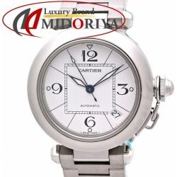 Cartier Cartier pasha C W31074M7 Boys white white clockface automatic car self-winding watch /36190 watch