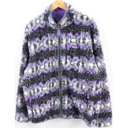Patagonia Patagonia classic nostalgic X cardigan 23060FA13 whole pattern fleece jacket men L /wbh1251