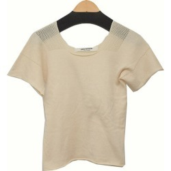 JUNYA WATANABE COMME des GARCONS cotton knit T-shirt beige size: There is no mention