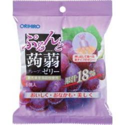 ぷるんと konjac jelly pouch grape (24 bags of sets) / ORIHIRO regular article