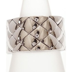 Chanel K18WG ring 19 metal used jewelry ★★ giftwrapping for free