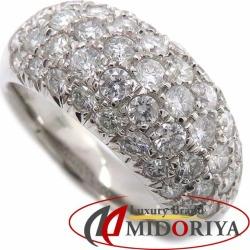 Diamond ring Pt900 diamond 2.01ct 15 platinum ring Lady's jewelry /63358