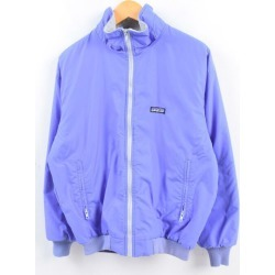 14 Lady's L vintage /wbh9018 in the 80~90 generation made in Patagonia Patagonia シェルドシンチラジャケット 28119 nylon X fleece jacket Canada