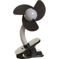 It is a 5 times / [outlet] dreambaby dream baby clip on fan silver X black stroller electric fan portable electric fan \ point more