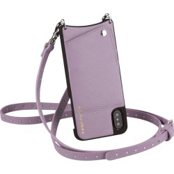 BANDOLIER NICOLE LILAC band re-yeah iPhone XR case shoulder smartphone eyephone leather men gap Dis lilac 10NIC1001 [197]