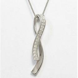 Diamond 0.09ct necklace platinum (Pt900)/ platinum (Pt850) jewelry netshop in total