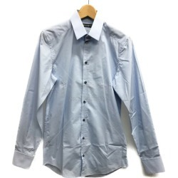 It is dolce and Gabbana SIZE 38 (S) long sleeves shirt G5CB4T FUMWI DOLCE & GABBANA men until - 9/11 1:59 at 9/9 18:00