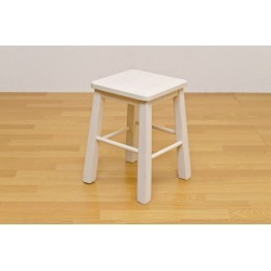 It includes the stool (work chair bench) wooden brushing processing harp whitewash postage!