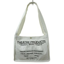 Theatre Products canvas tote bag white size: - (theater products)