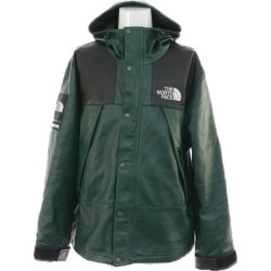 Unused シュプリームザノースフェイス /THE NORTH FACE, 18AW Leather Mountain Jacket, zip up jacket blouson leather mountain jacket /NP618071/L/Supreme ■ 295654