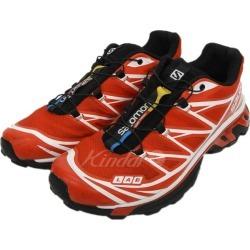 "SALOMON ADVANCED ""S/LAB XT-6 SOFTGROUND ADV"" sneakers red size: 27cm (Salomon advance)"
