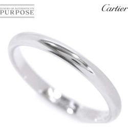 Cartier Cartier classical music #54 ring Pt950 2.5mm in width platinum ring