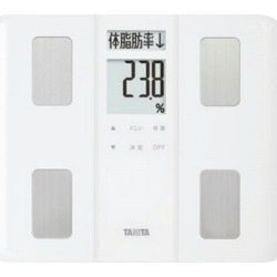 TANITA body fat calculator, scale BC-330 [white] [a type: a body composition measurement position in total: sole size: 310x33x274mm weight: 1,300 g]
