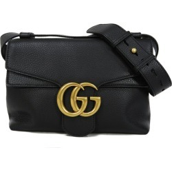 GUCCI Gucci handbag GG マーモント 2WAY shoulder bag black 401173 Lady's bag bag elegant high quality refined adult brand