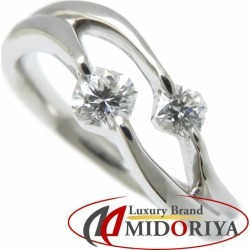 Diamond ring Pt900 diamond 0.30ct 11.5 platinum ring Lady's jewelry /63517