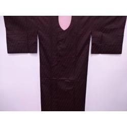 Getting out Taisho romance slant striped wave pattern design texture raincoat [raincoat / kimono / kimono / kimono / / dustcloth / dust sheet in Japanese dress]