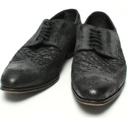 It is beautiful article dolce and Gabbana SIZE 61/2 (S) vintage processing medallion wing tip shoes DOLCE & GABBANA men until - 9/11 1:59 at 9/9 18:00
