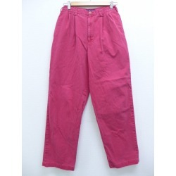 Old clothes Lady's brand underwear 80s Ralph Lauren Ralph Lauren コットンタロン red red used bottoms I show cute spring clothes summer clothing summer clothes shorts casual lady's fashion fashion for spring in the spring and summer
