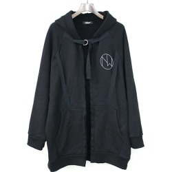 UNDER COVER under cover 19SS THE NEW WARRIORS print design parka men black 2