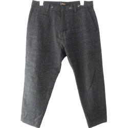 UNDER COVER 17AW MIX WOOL suspender underwear navy size: 2 (under cover)