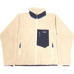 patagonia 2019AW classic nostalgic X zip up fleece jacket white X beige size: S (Patagonia)
