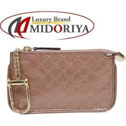 Gucci GUCCI coin case coin purse Gucci sima micro leather pink beige 233183 /043224